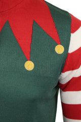 Mens Christmas Elf  Xmas Jumper by Xact-3
