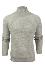 Mens Wool Blend Jumper Turtle Neck  by Xact_02_XK1017