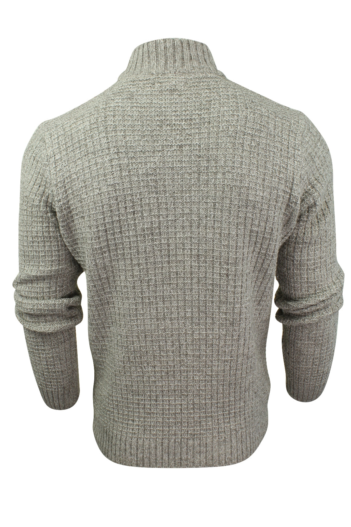 Mens Wool Blend Jumper Turtle Neck  by Xact-3