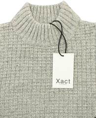 Mens Wool Blend Jumper Turtle Neck  by Xact-4