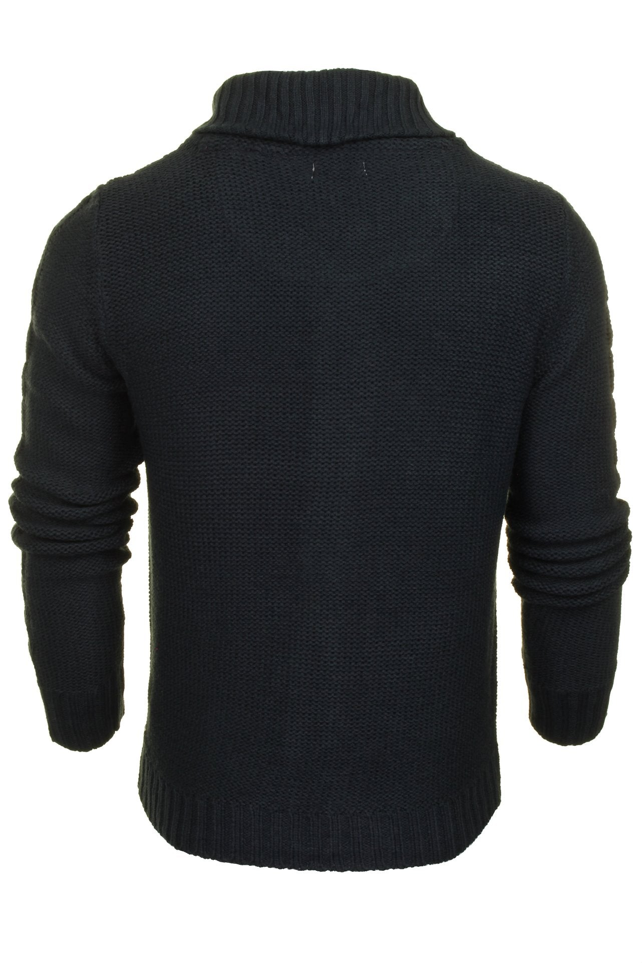 Xact Mens Shawl Neck Cardigan-3
