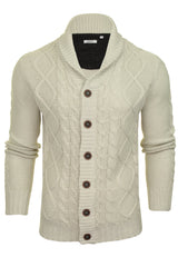 Xact Mens Shawl Neck Cardigan-Main Image
