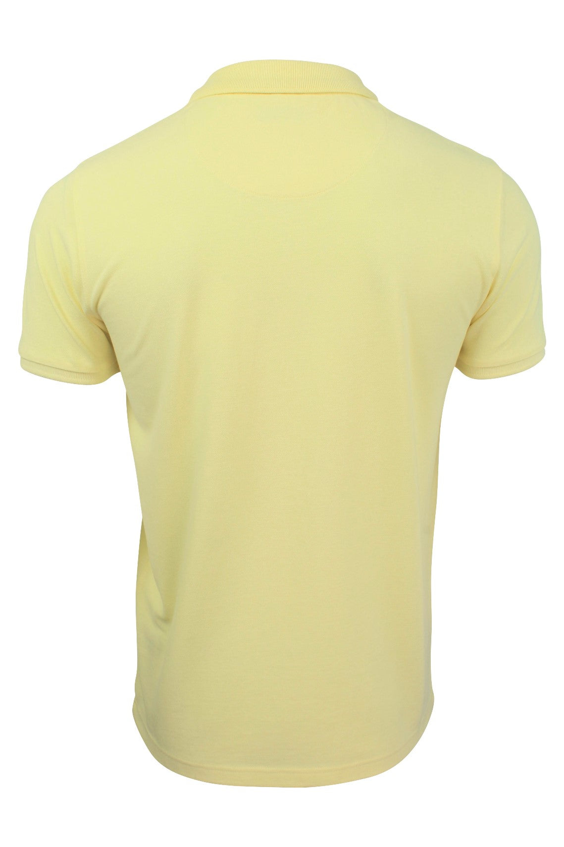 Xact Mens Pique Polo link Short Sleeved Golf Casual_03_Xp1025_Yellow