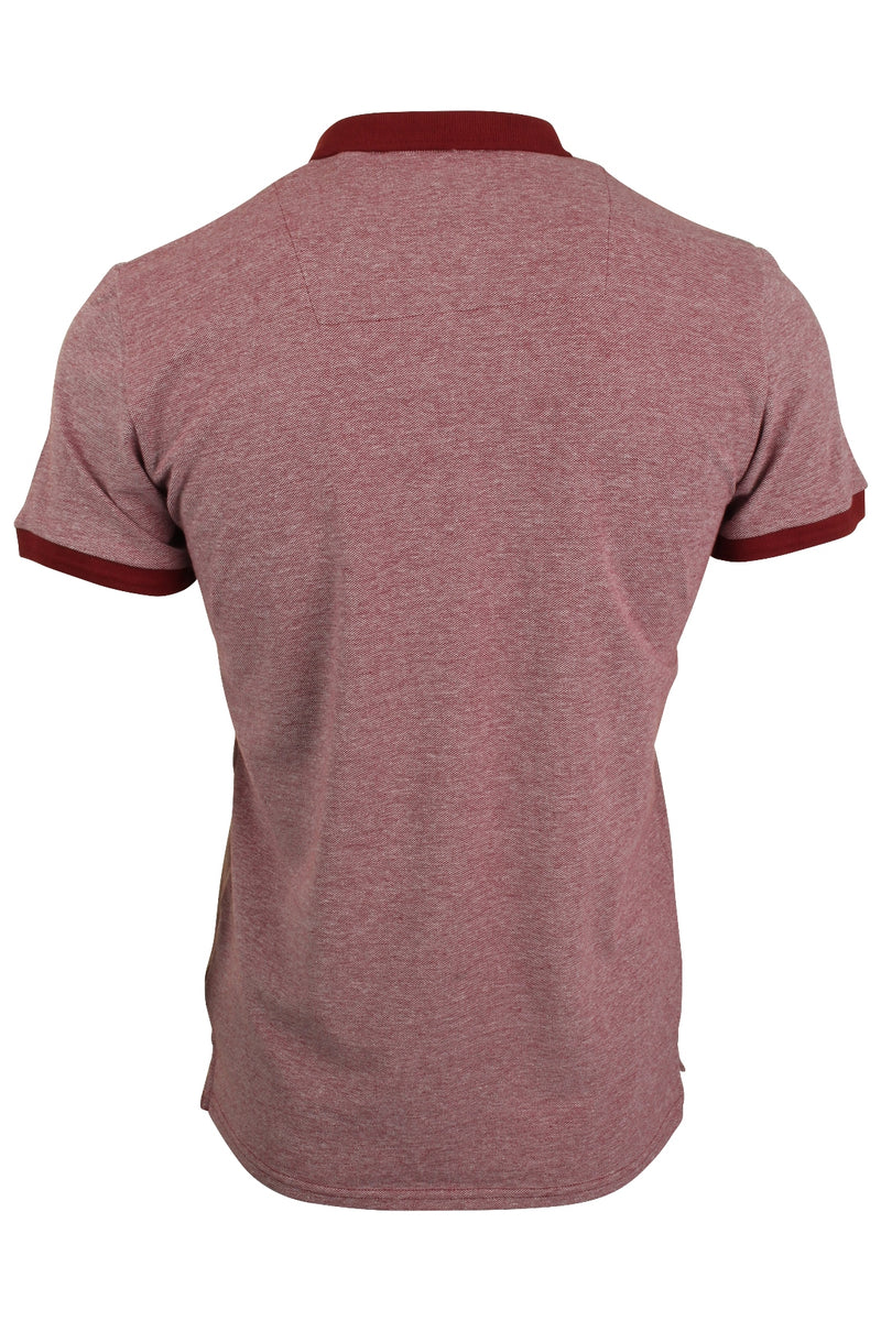 Xact Men's Polo T-Shirt Short Sleeved Cotton Pique, 03, Xp1036, #colour_Rich Red
