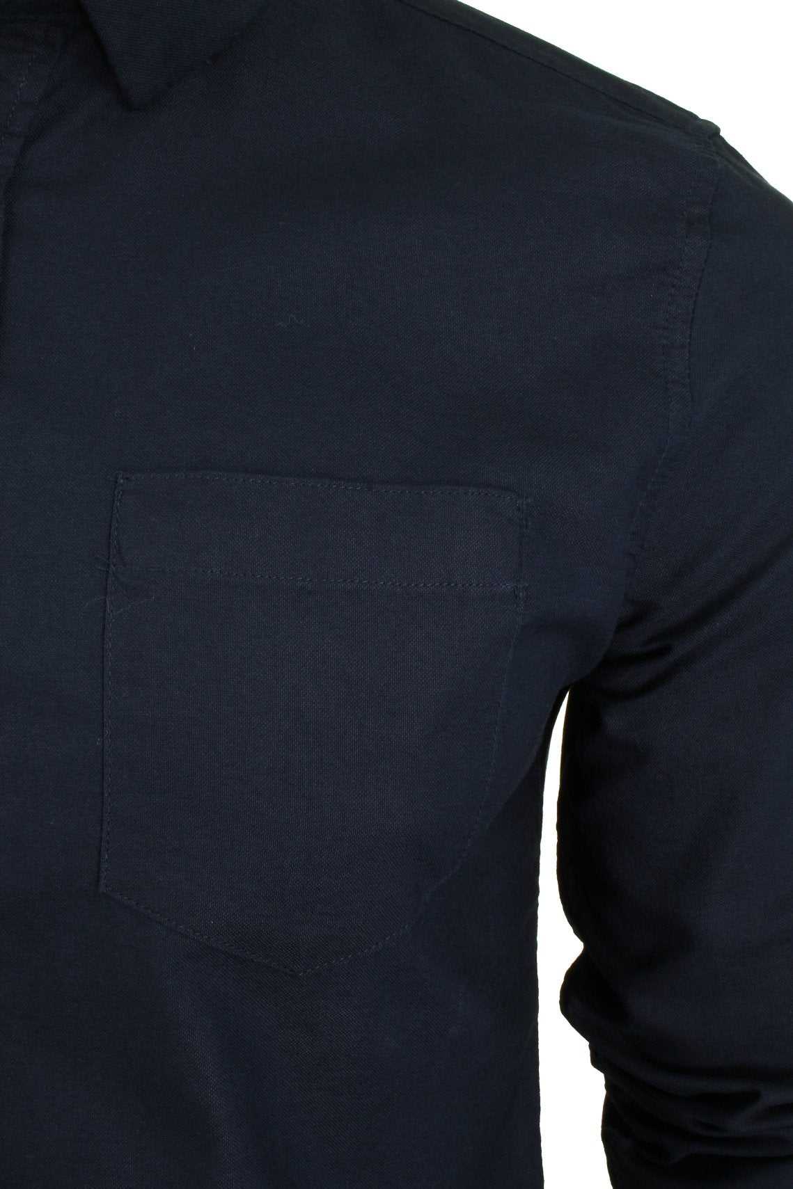 Xact  Long Sleeved Oxford Shirt-2