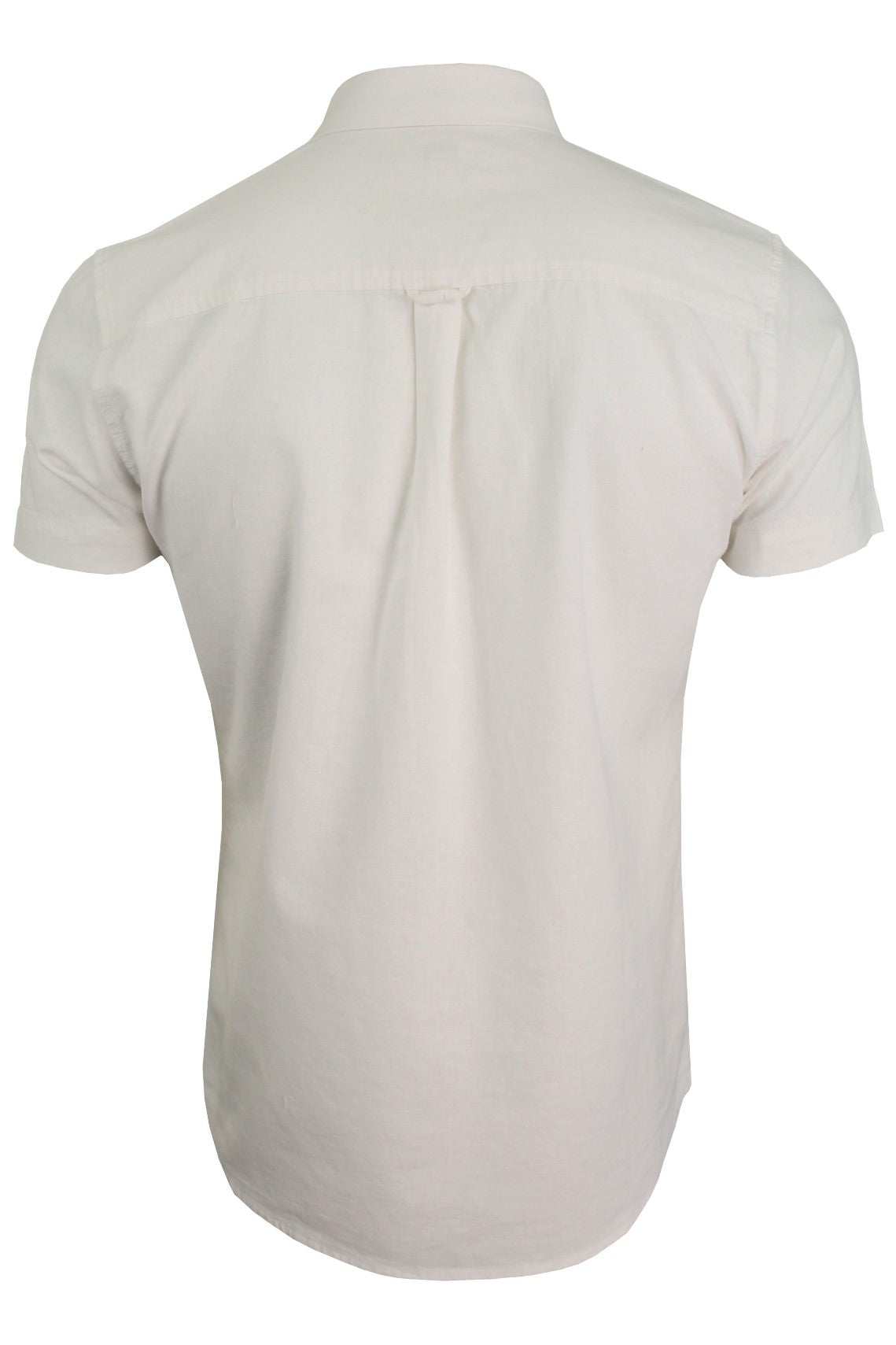 Xact Short Sleeved Linen Mix Shirt-3