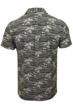Xact Men's Shirt Hawaiian Holiday Short Sleeved, 03, Xsh1049, #colour_Navy