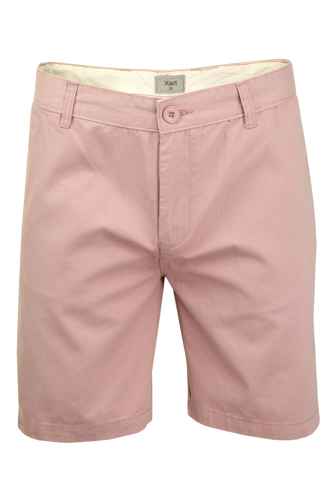 Xact Chino Shorts Mens Soft Feel Cotton Fashion Garment-Main Image