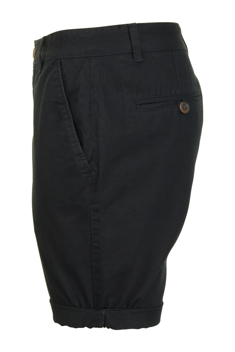 Mens Twill Chino Shorts by Xact, 02, Xsrt1028, #colour_Navy
