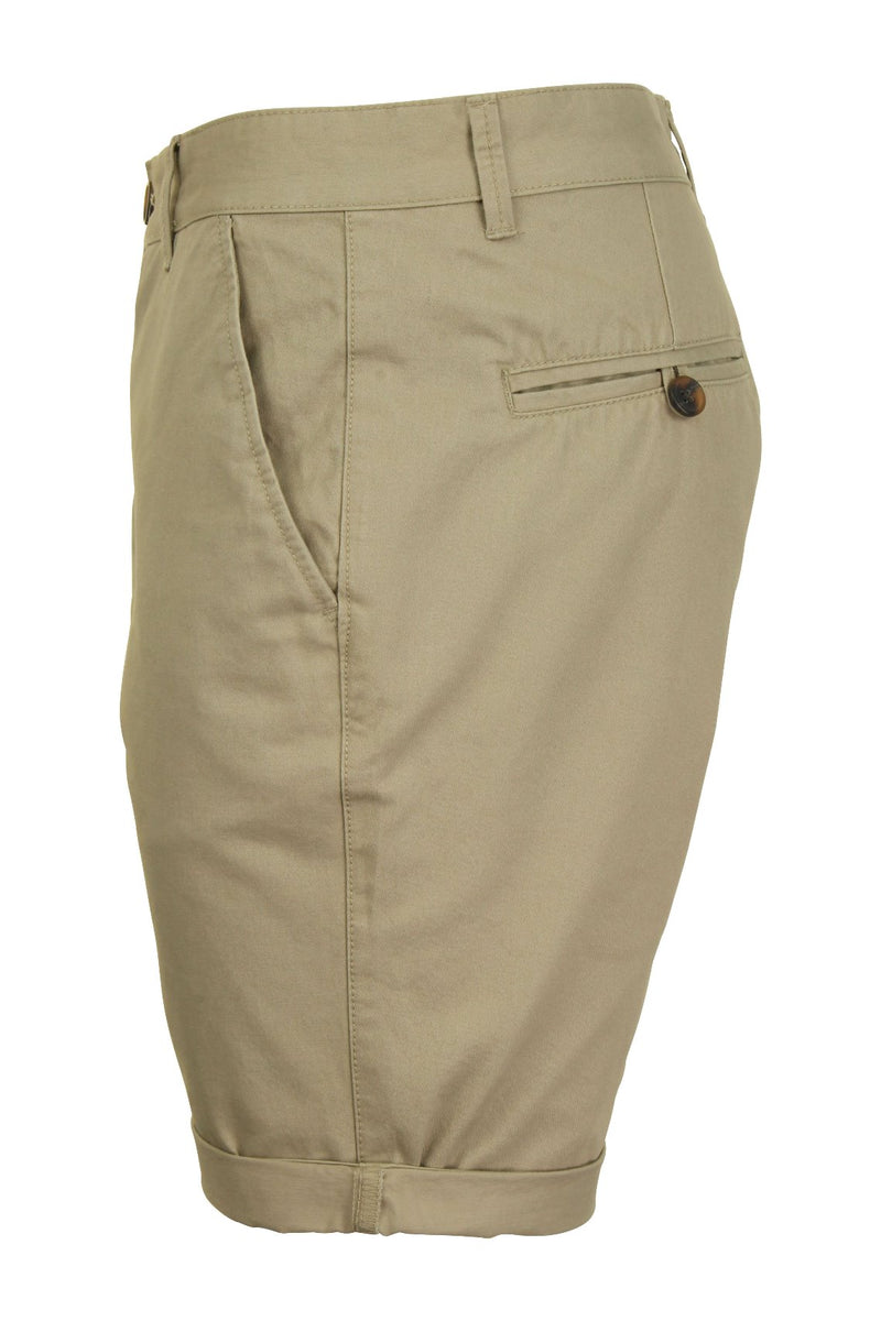 Mens Twill Chino Shorts by Xact, 02, Xsrt1028, #colour_Stone