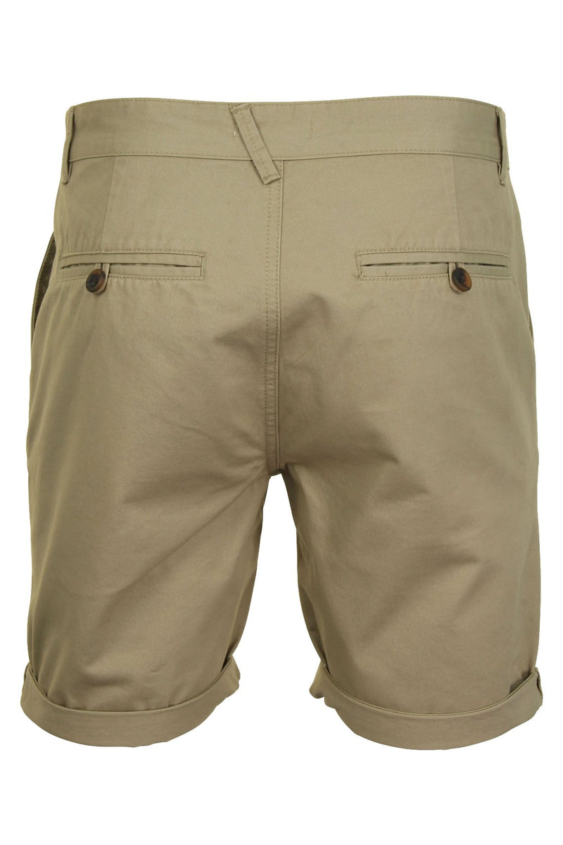 Mens Twill Chino Shorts by Xact, 03, Xsrt1028, #colour_Stone