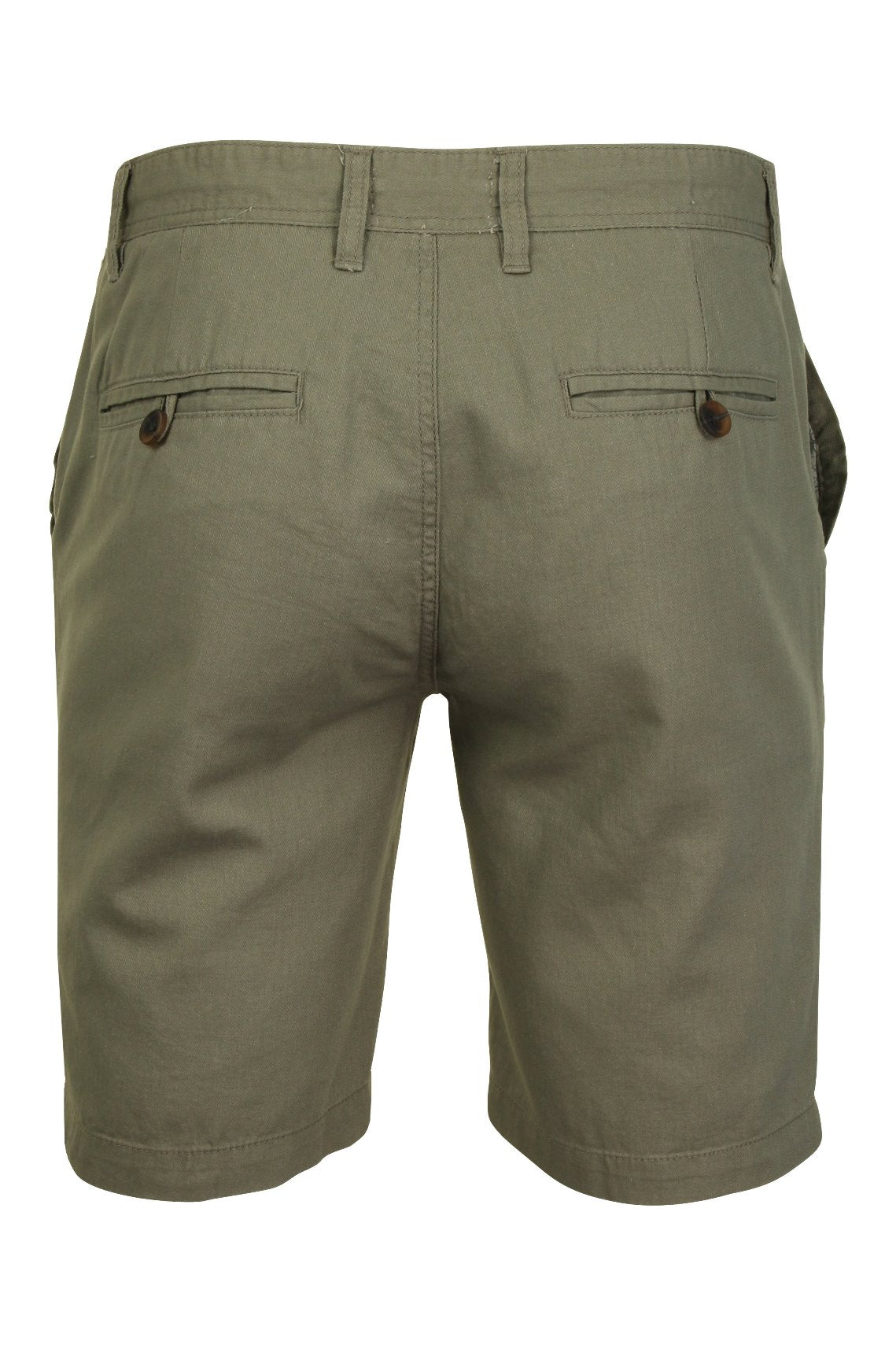 Mens Linen Mix Chino Shorts by Xact-3
