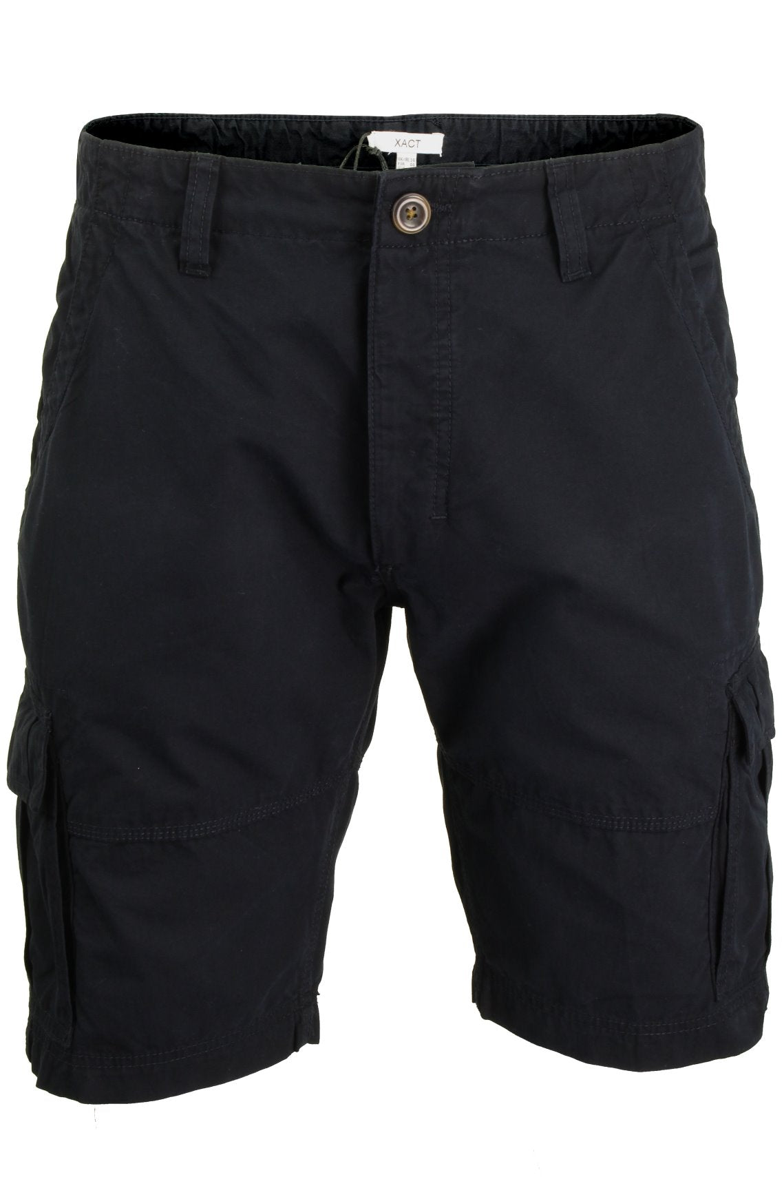 Mens Canvas Cargo Shorts by Xact-Main Image