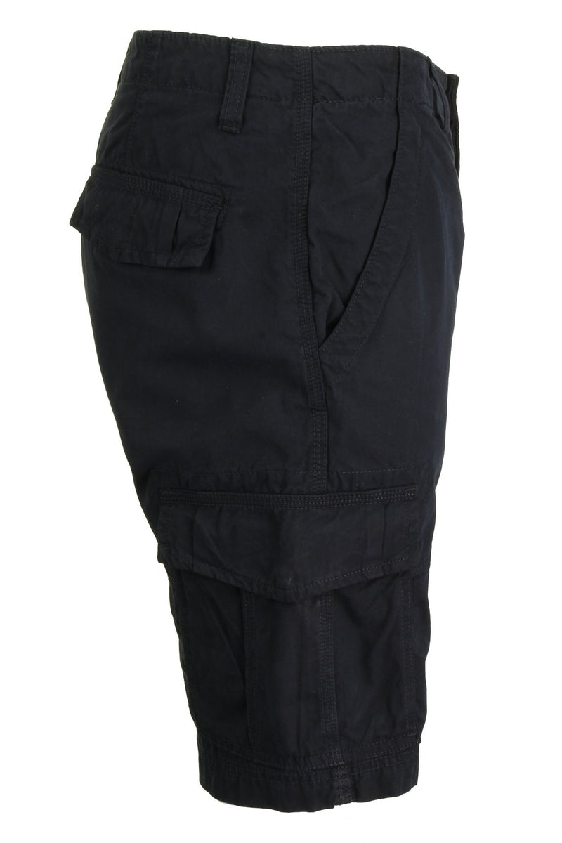 Mens Canvas Cargo Shorts by Xact, 02, Xsrt1031, #colour_Navy