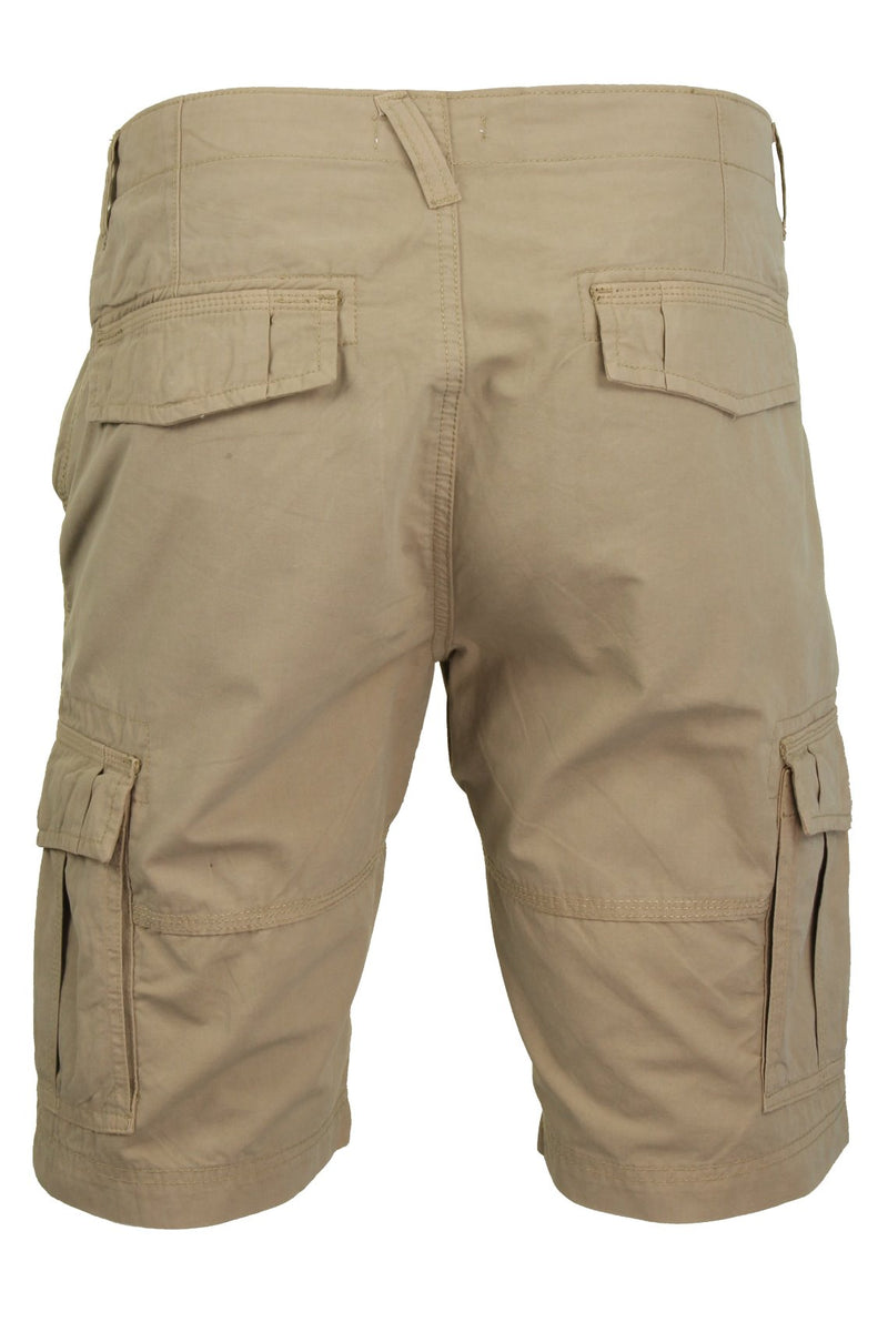 Mens Canvas Cargo Shorts by Xact, 03, Xsrt1031, #colour_Stone