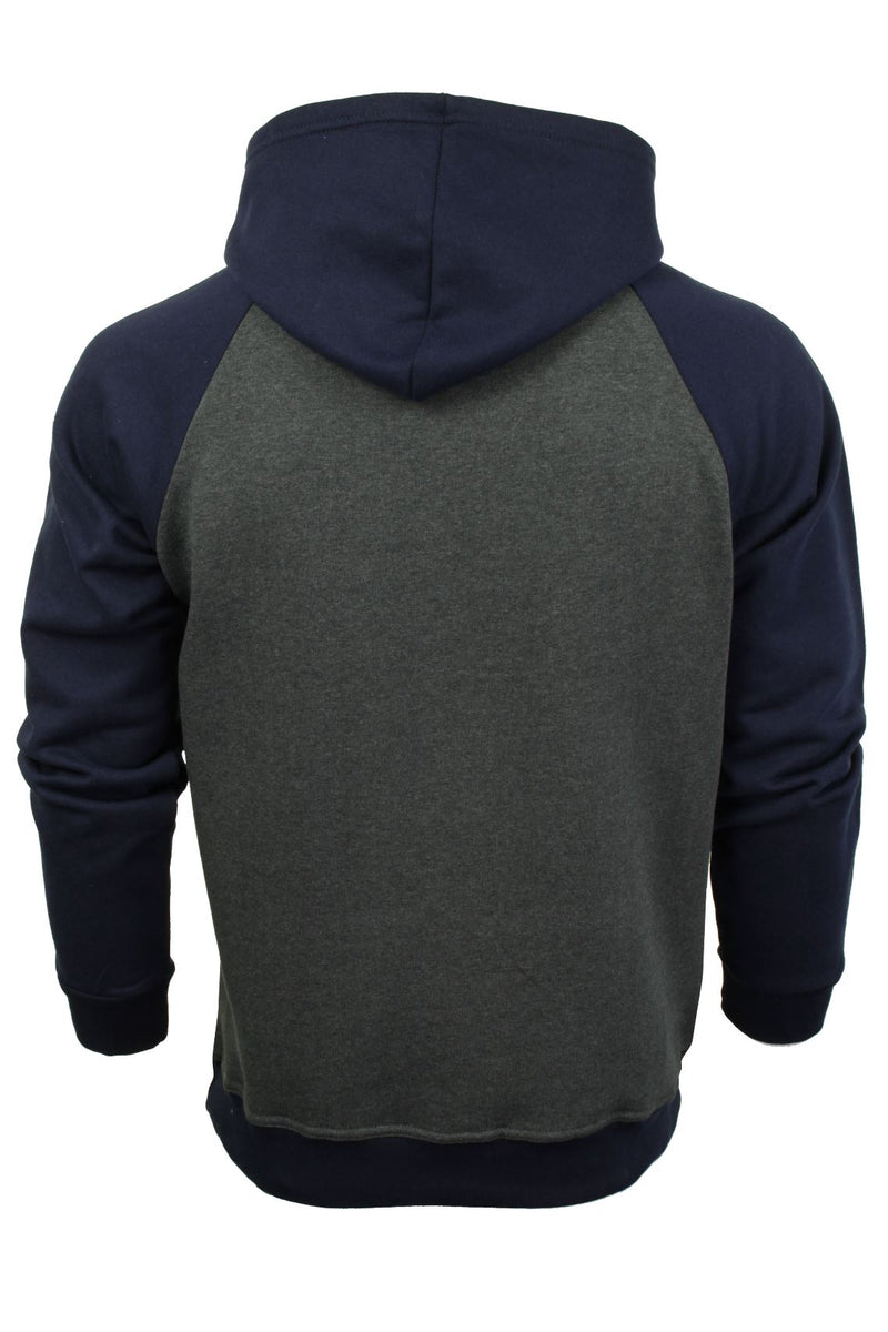 Xact Mens Overhead Hoodie 'New York', 03, Xsw1039, #colour_Charcoal-Navy