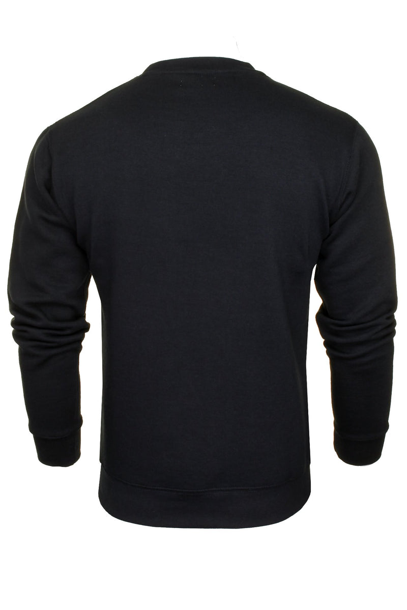 Xact Men's Crew Neck Sweatshirt/ Jumper, 03, Xsw1122, #colour_Navy