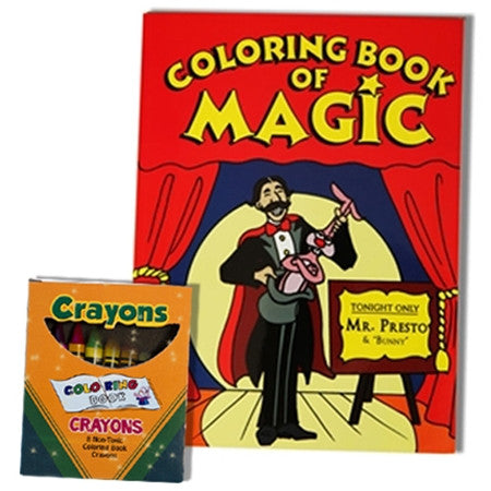 Coloring Book of Magic Original Large Size
