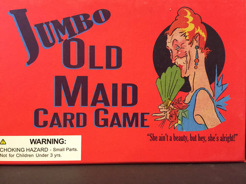 Jumbo Old Maid Card Game