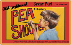 Old-fashioned Pea Shooter  (TOYS & GAMES)
