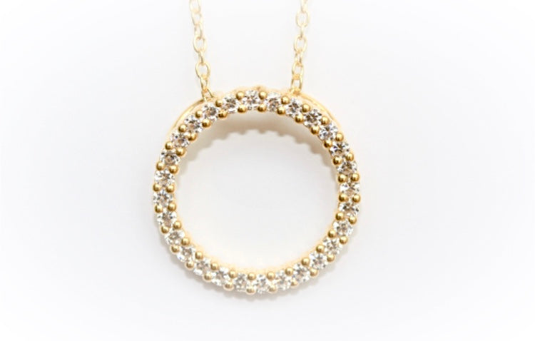 Gold-Vermeil Circle of Life Pendant