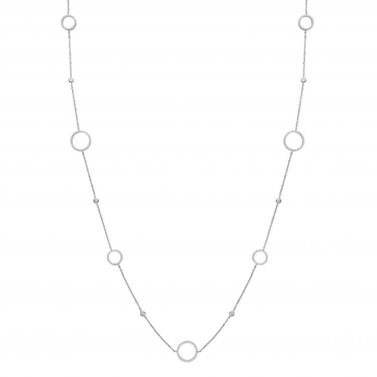 Long Circle of Life Necklace