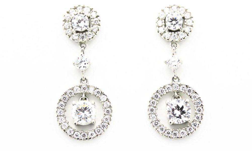 Fabulous Deco Style Drop Earrings