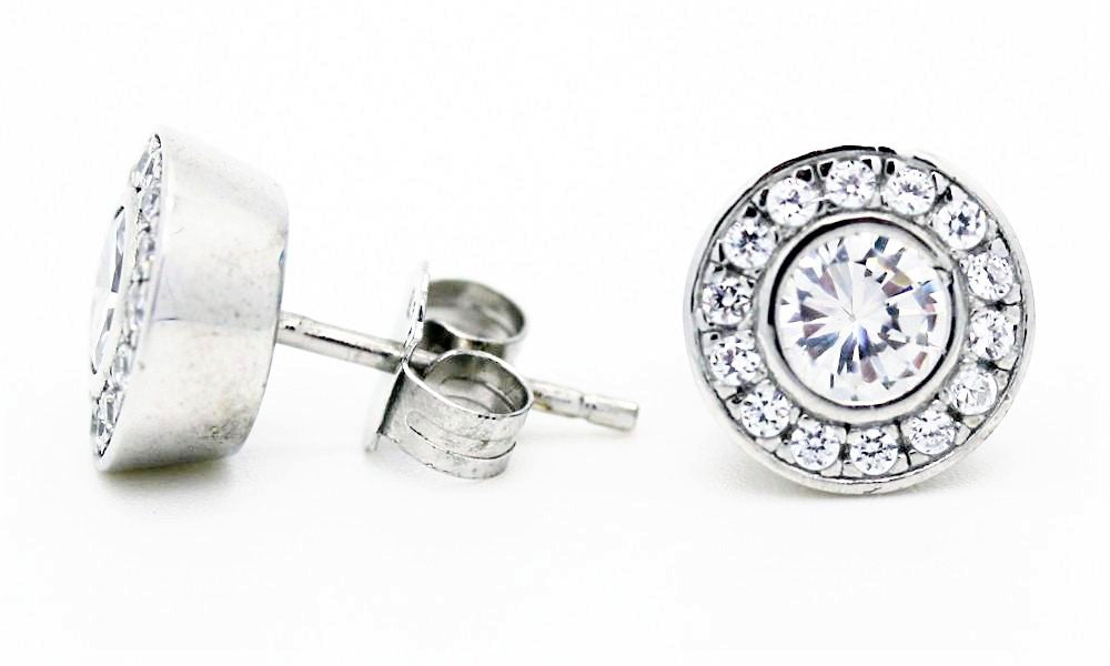 "Chic ""Diamond"" Earrings"