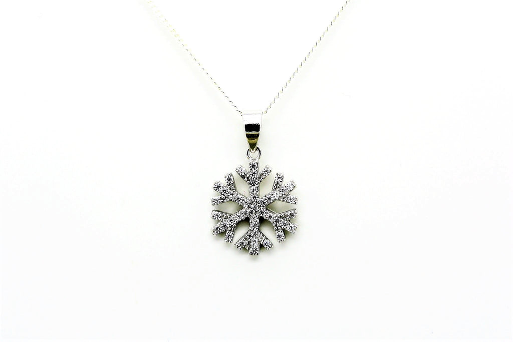 "Snowflake ""Diamond"" Necklace"