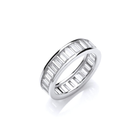 Baguette Full Eternity Ring