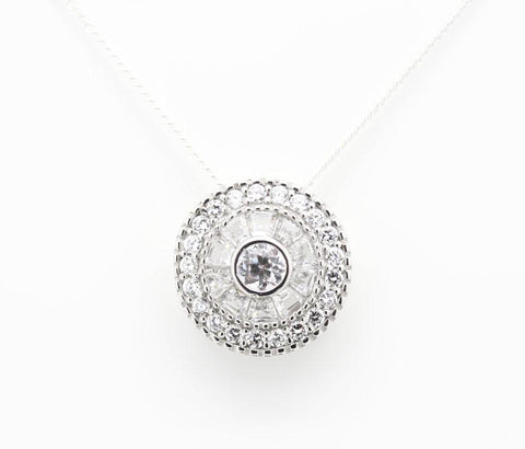"Concentric ""Diamond"" Necklace"