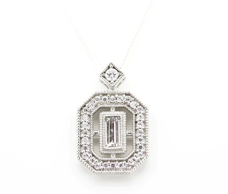 "Deco ""Diamond"" Necklace"