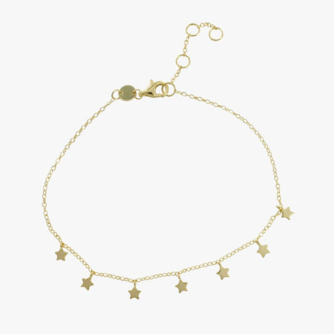 Starry Nights Gold or Silver Bracelets