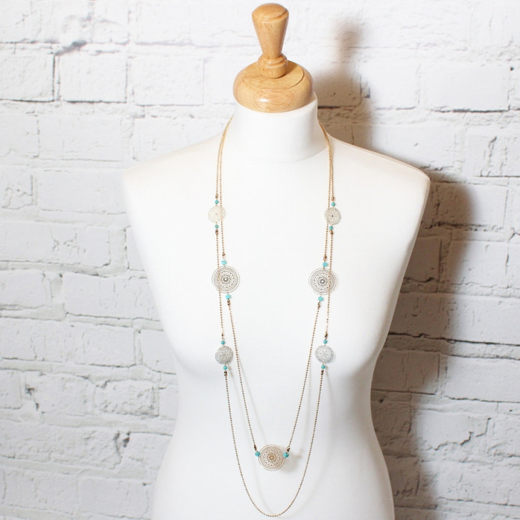 Double Chain Necklace