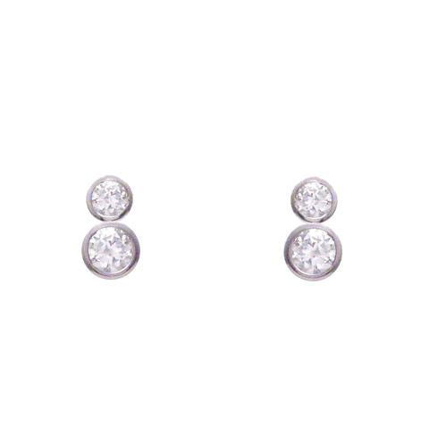 "Double ""diamond"" Studs"