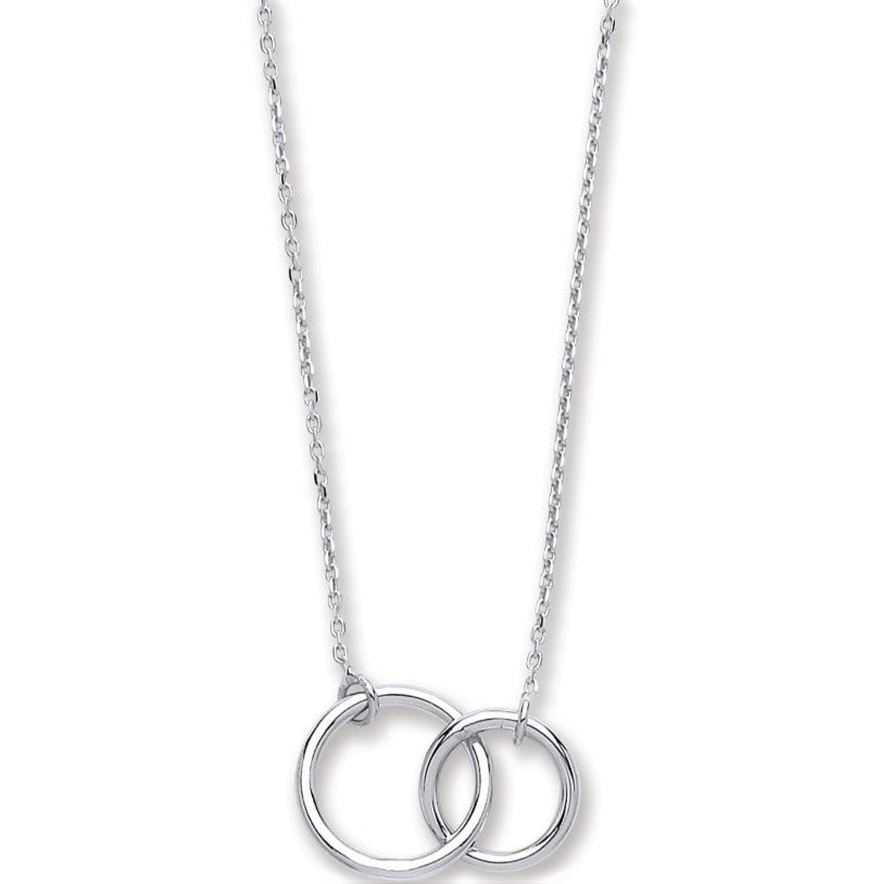 Silver Interlink Necklace