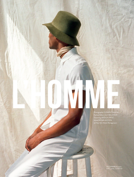 Remix L'Homme Editorial