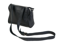 Camera Bag in Black Leather - CLYDE