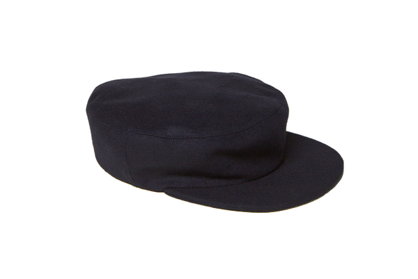 Acton Hat in Navy Wool - CLYDE