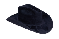 Cowboy Hat in Midnight Angora - CLYDE