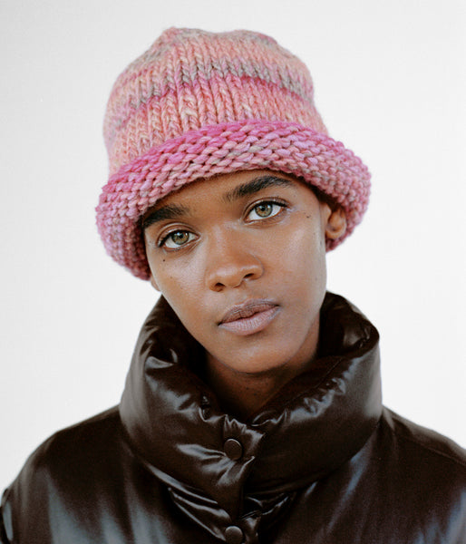 Tommy Hat in Rose | Beige | Orange - CLYDE