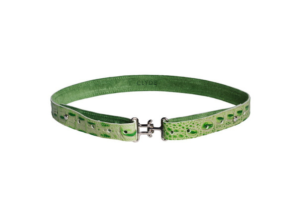 Link Belt in Jade Gator - CLYDE