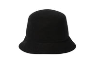 Batta Hat in Black Wool - CLYDE