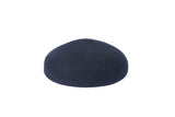 Acorn Beret in Navy Wool - CLYDE
