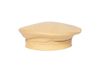 Lambskin Beret in Dahlia Yellow - CLYDE