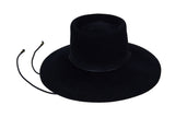 Gaucho Hat in Black Suede