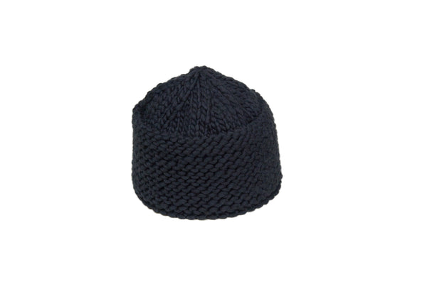 Knit Cossack in Black