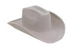 Cowboy Hat in Alabaster Angora