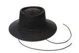 Telescope Hat in Black w. Drawstring - CLYDE