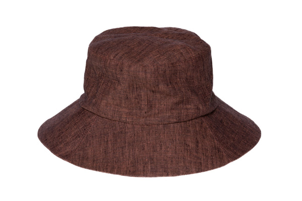 Classic Bucket Hat in Ancho / Black Melange - CLYDE